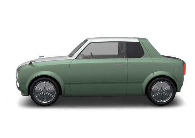 Self-driving car suzuki WAKUsupo