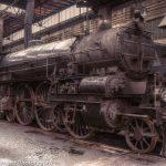 スチームパンクな蒸気機関車